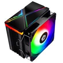IDcooling 234ARGB/224XT-RGB материнская плата синхронизации верхняя крышка светильник-излучающие Процессор Кулер 4 теплотрубки низкая Шум Контроль тем...