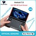 Powkiddy X18 Andriod портативная игровая консоль 5 5 дюймов 1280*720 экран MTK 8163 четырехъядерный 2 Гб ОЗУ 32 Гб ПЗУ видео Портативный игровой плеер