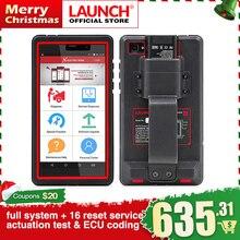 LAUNCH X431 Pro мини-машина полная система диагностический инструмент автомобильный Wi-Fi Bluetooth OBD2 сканер 2 года бесплатное обновление PK X431 Pro Mini