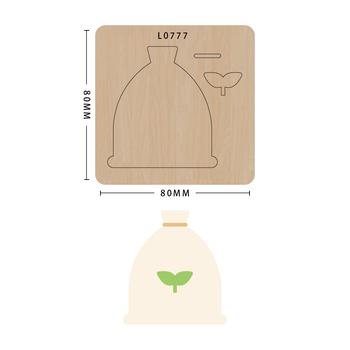 SMVAUON notatnik Die Cut graficzne DIY handmade nowe matryce do 2020 drewniany szablon do wycinania formy do wykrawania drewna tanie i dobre opinie Nieregularne Rysunek Leather Tools
