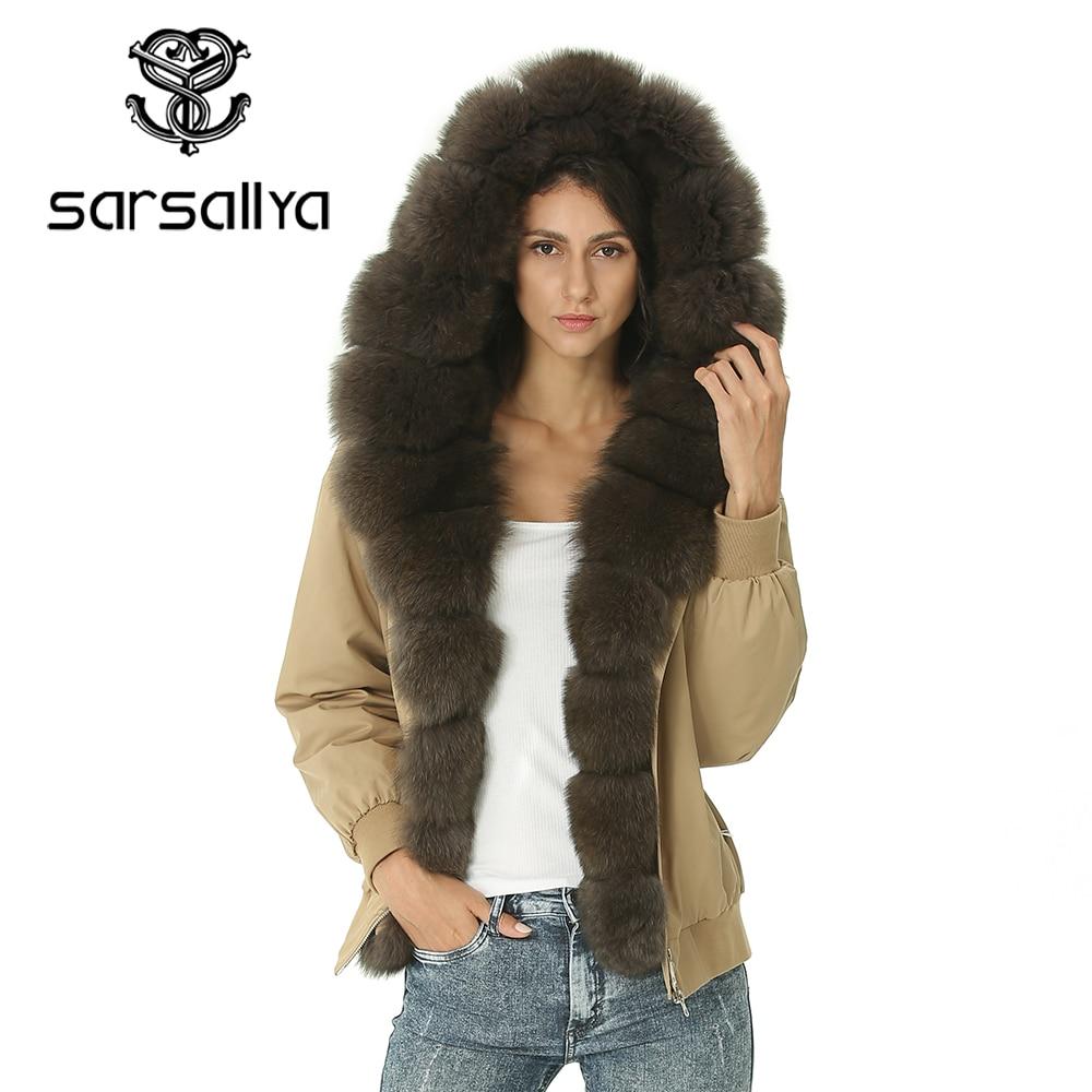 Women Jacket Coat Winter Real Fur Coat Hood Ladies Parka Jackets Female Bomber Jacket Autumn Basic Clothing Thick Warm Overcoat