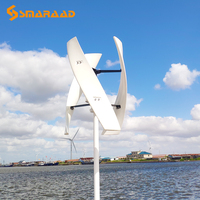 Free Energy 200w 400w 600w Vertical Axis Permanent Maglev Wind Turbine Generator 12v 24v 48v Windmill With Controller Wind Power