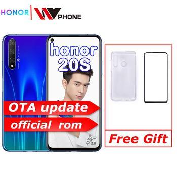 honor 20 s Honor 20s Smart Phone Kirin 810 Octa Core 6.26 inch Full Screen 48MP three Cameras 3750mAh GPU Turbo Mobile Phone