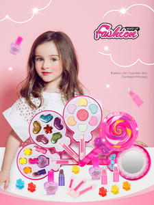 Toys Make-Up-Toy-Set Dressing Cosmetic Gifts Play Pretend Beauty-Safety Pink Girls Kids
