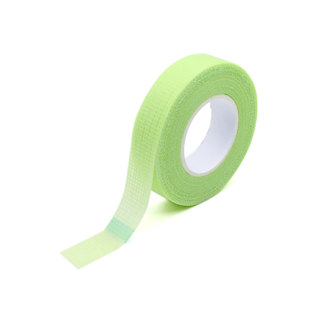 2019 New Japanese grafted eyelash isolation tape with holes breathable comfortable sensitive resistant Green eye pad 3