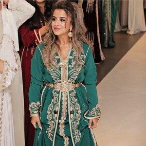 Image 1 - Marokański R marka metalowe pasy dla kobiet złoty biżuteria łańcuch talii pełny kryształ górski pasy ślubne słynny maroko biżuteria