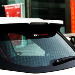 Image 4 - 1 قطعة/المجموعة سيارة شعار الجانب نافذة WindshieldStickers صائق الديكور ل هيونداي إلنترا سولاريس سوناتا Veloster سانتافي GDI