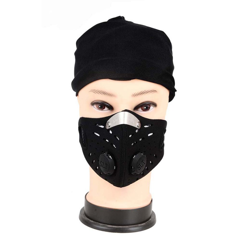 Men Women Anti-dust Face Mask Breathable Anti-pollution Air Filter Bike Bicycle Riding Hiking Face Masks