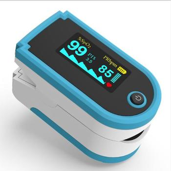 Portable Finger Clip Pulse Oximeter For SpO2 And PR Test TFT Screen Display Oxygen Saturation Detector image