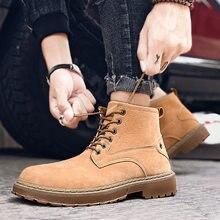 Мужские ботинки челси Западная мода ботильоны на шнуровке черные