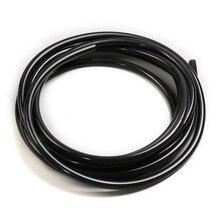 FIFAN автомобильный силиконовый вакуумный шланг 1 метр 3 мм/5 мм вакуумная труба вакуумный силиконовый шланг Труба четыре цвета