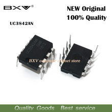 Nouveau circuit intégré original, 10 pièces, UC3842AN DIP8 UC3842 UC3842BN DIP 3842AN DIP-8 UC3842A UC3842B UC3842