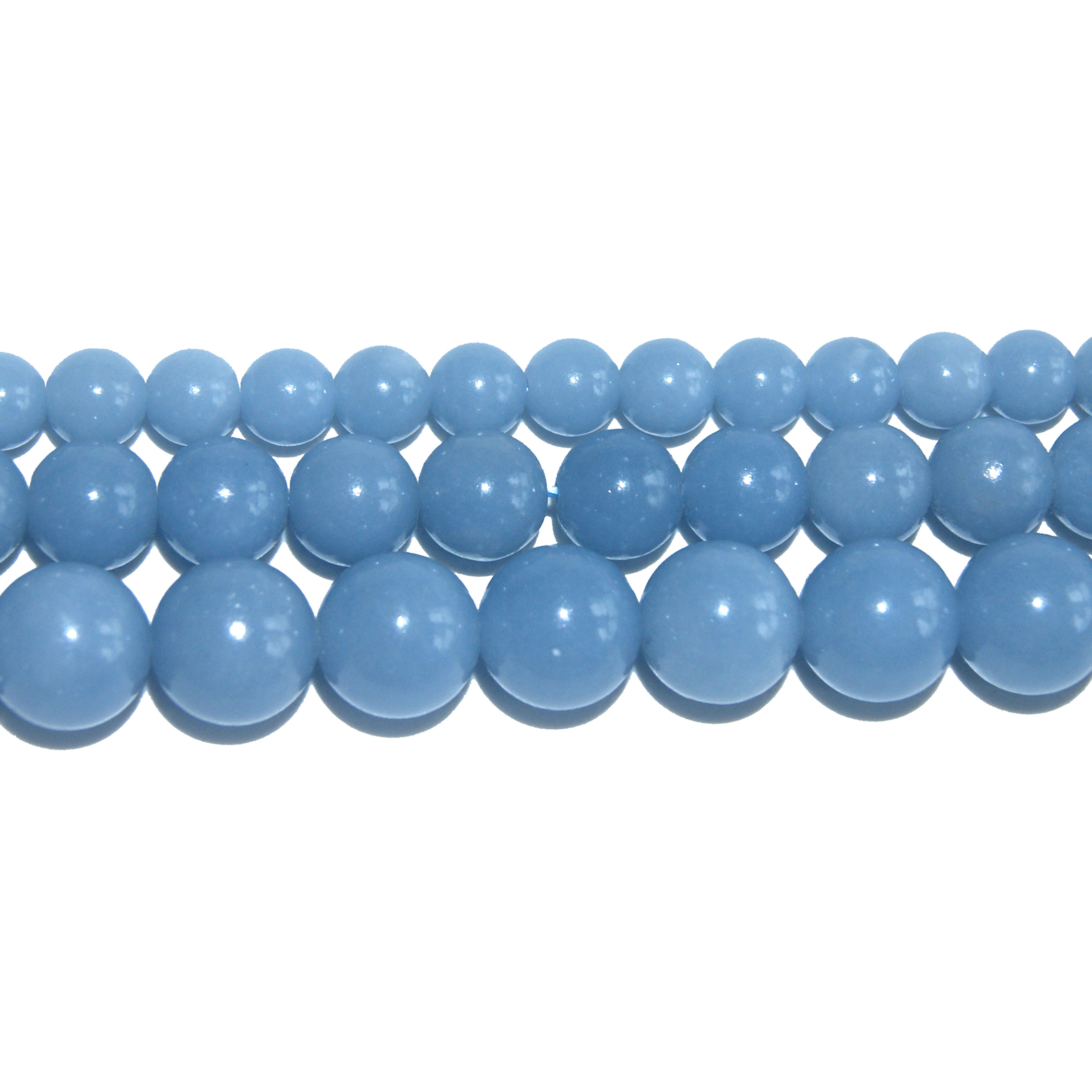 36/'/' Long Natural 8-18mm Blue Lapis Lazuli Round Gemstone Beads Necklace