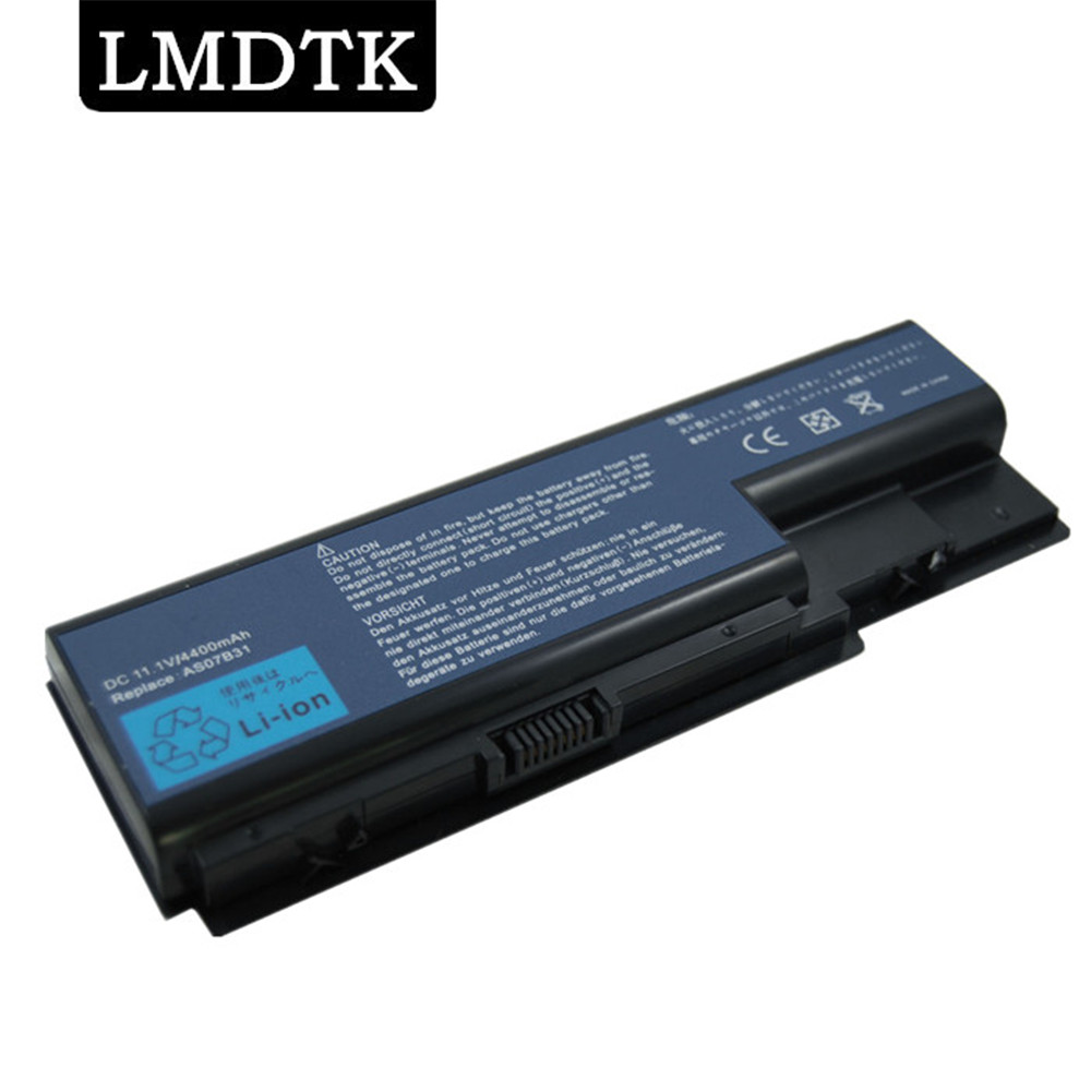 LMDTK New 6 Cells Laptop Battery FOR Acer Aspire AS07B31 AS07B32  AS07B41   AS07B42  AS07B51  AS07B71   Free Shipping