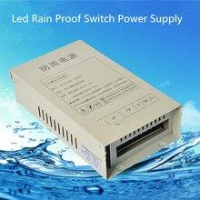 12В 33А источник питания постоянного тока питание 24В Transformador Сид непромокаемый легкий адаптер драйвер Adaptaeur Transformateur