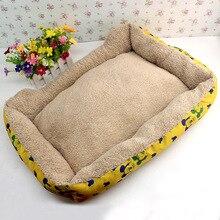 Лежанка для домашнего питомца Тедди VIP бишон золотой ретривер кровать маленькие собаки зима щенок кошка гнездо собака принадлежности