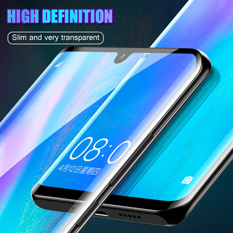 9D Protective Glass For Huawei P30 Lite P20 Pro P9 Anti-Scratch High Quality Screen Protector For Huawei P Smart Plus
