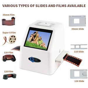Image 2 - Scanner de Film négatif Portable de 35mm, résolution de 22 mégapixels, 110 135, 126KPK, convertisseur de Film numérique avec écran LCD de 2.4 pouces