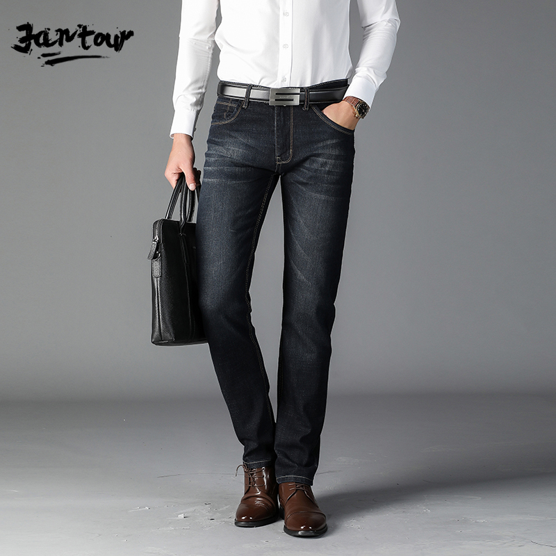 New Autumn Winter Men's Brand Jeans Men's Jeans