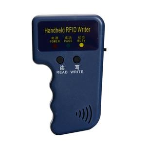 Image 4 - Handheld 125KHz RFID Duplicator Copier Writer Programmer Reader  EM4305 T5577 Rewritable ID Keyfobs Tags Card