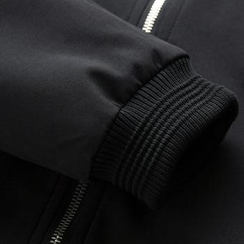 Men Bomber Jacket Thin Slim Long Sleeve baseball Jackets   6