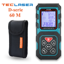 TECLASER Laser Distance Meter 20M 40M 60M 80M 100M Laser Tape Range Finder Measure Digital