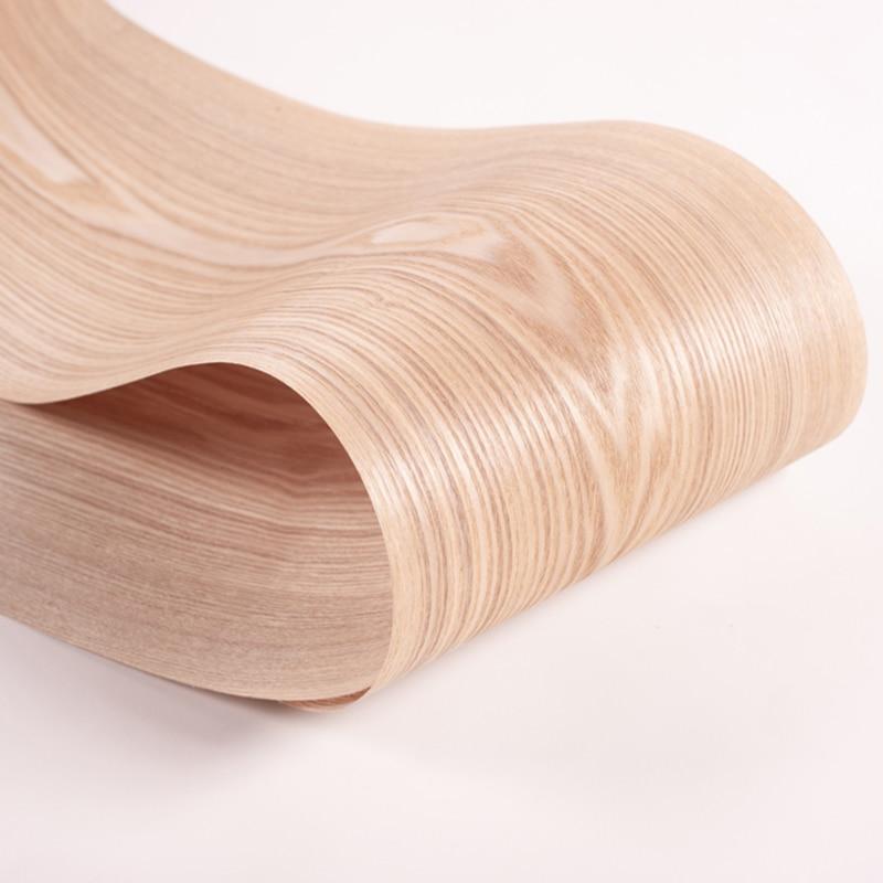 1 рулон натуральный манчуриан ясень шпон тонкая древесина твердая ручная работа «сделай сам» динамик гитара Музыкальные инструменты изгот...