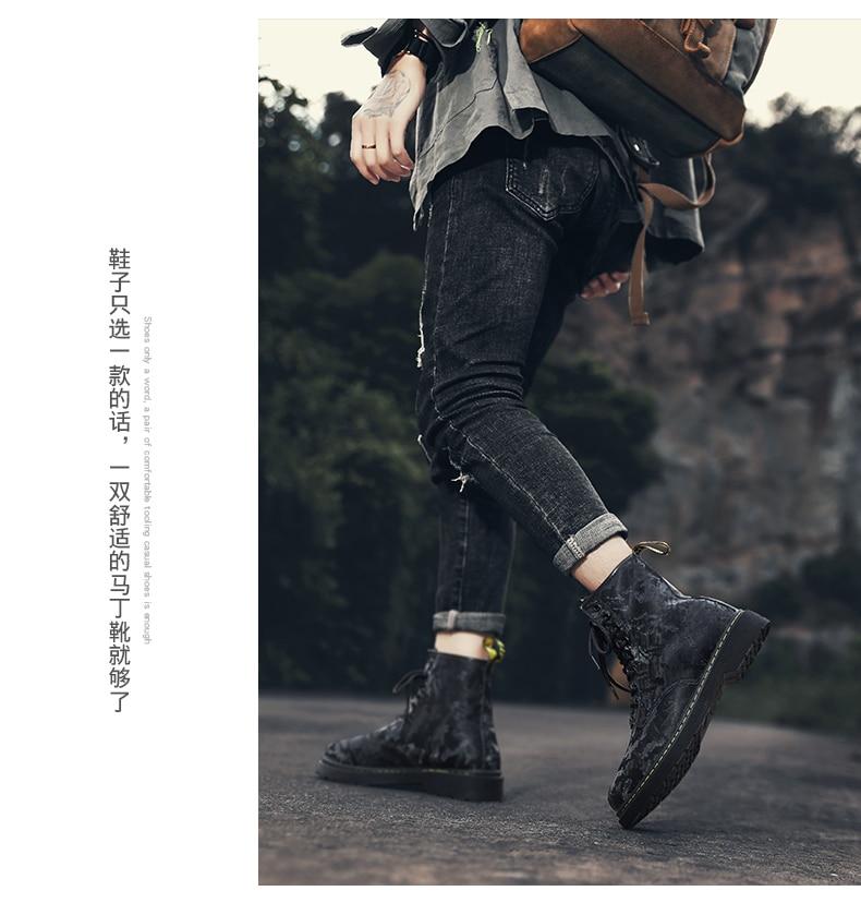 homens de couro deslizamento em 2020 moda