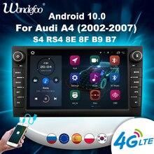 2 din Android 10 Car radio For Audi A4 2002 2007 S4 RS4 8E 8F B9 B7 carplay GPS Navigation autoradio Stereo bluetooth Multimedia