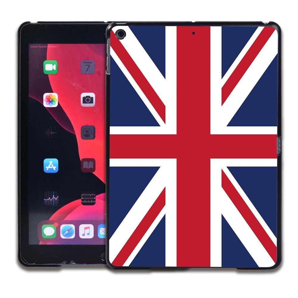 17.British flag Grad Orange Tablet Hard Back for Apple IPad 8 2020 8th Gen 10 2 A2270 A2428 Z2429 Z2430