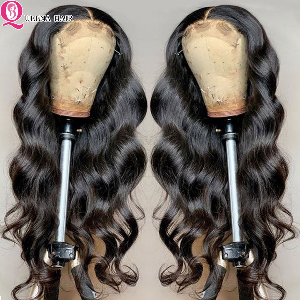 body wave lace closure wigs