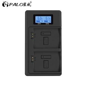Image 2 - 충전기 LP E5 LP E6 LP E8 LP E10 LP E12 LP E17 LP E5 E6 E8 E10 E12 E17 배터리 USB 듀얼 스마트 충전기 배터리 충전기