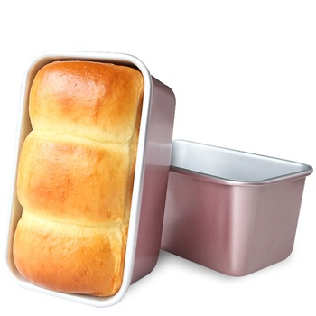 2020 New Arrival Pink Carbon Steel Easy To Clean Bread Moulds Kitchen Tools Bakeware Cooking Tools Toast Mould Cake Pans