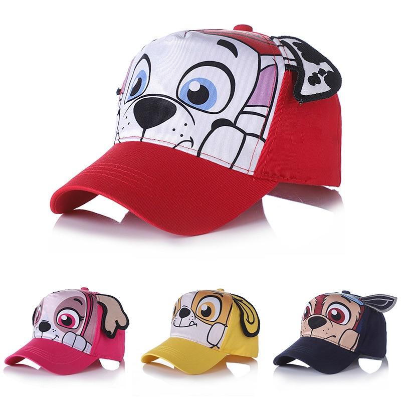 Hot Sale Genuine Paw Patrol Baby Cartoon Cute Comfortable Baseball Hat Children Kids Cotton New Kids Toy Gift