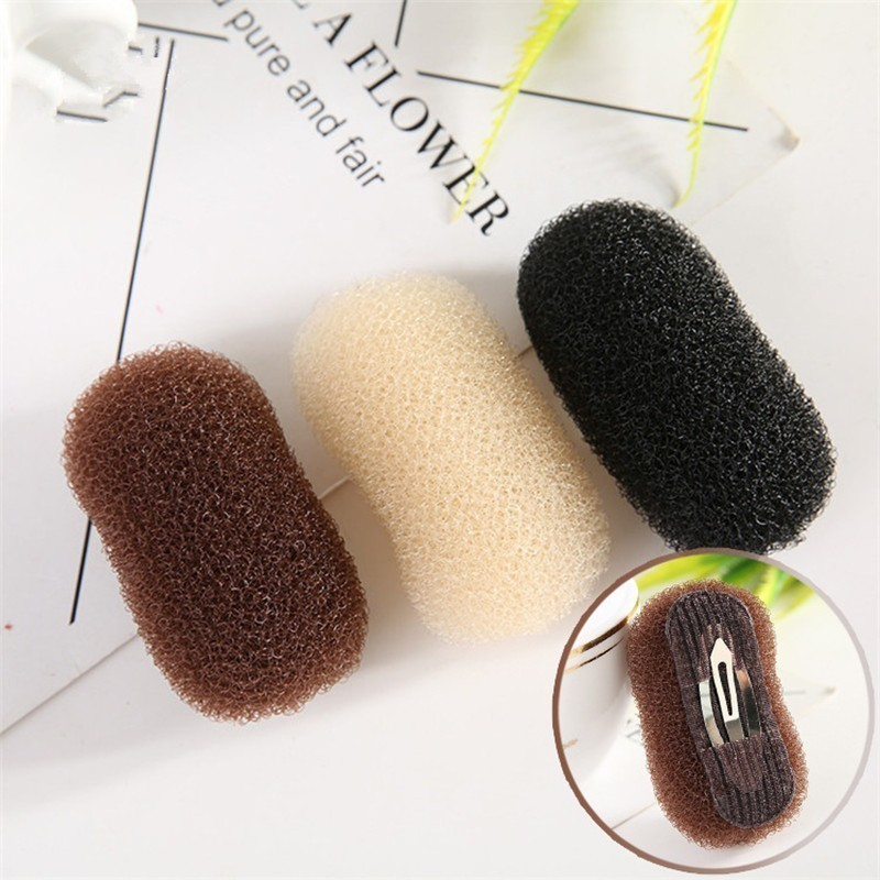 Magic Bun Hair Base Bump Hairpin Ventilation Hair Tool Hot Sponge Braider Hair Maker Styling Twist Styling Insert Braiders Tool