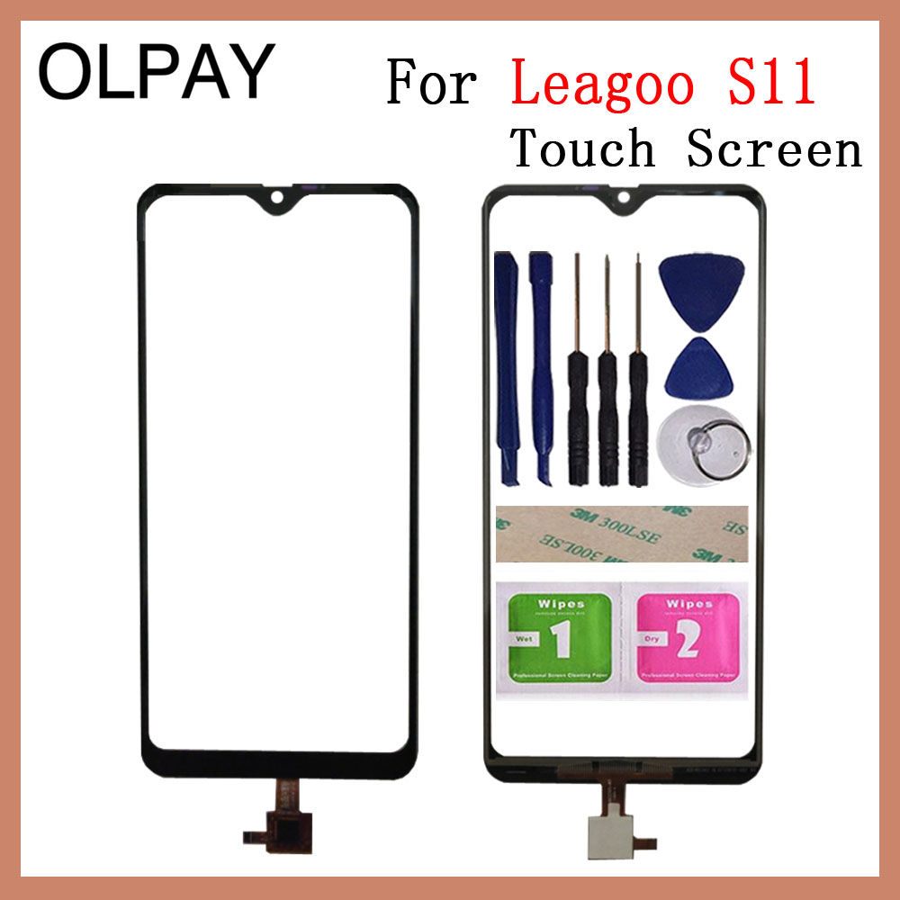 Mobile Phone Touch Screen 6.21'' Inch For Leagoo S11 Touch Screen Glass Digitizer Sensor Outer Glass Lens Panel Replacement