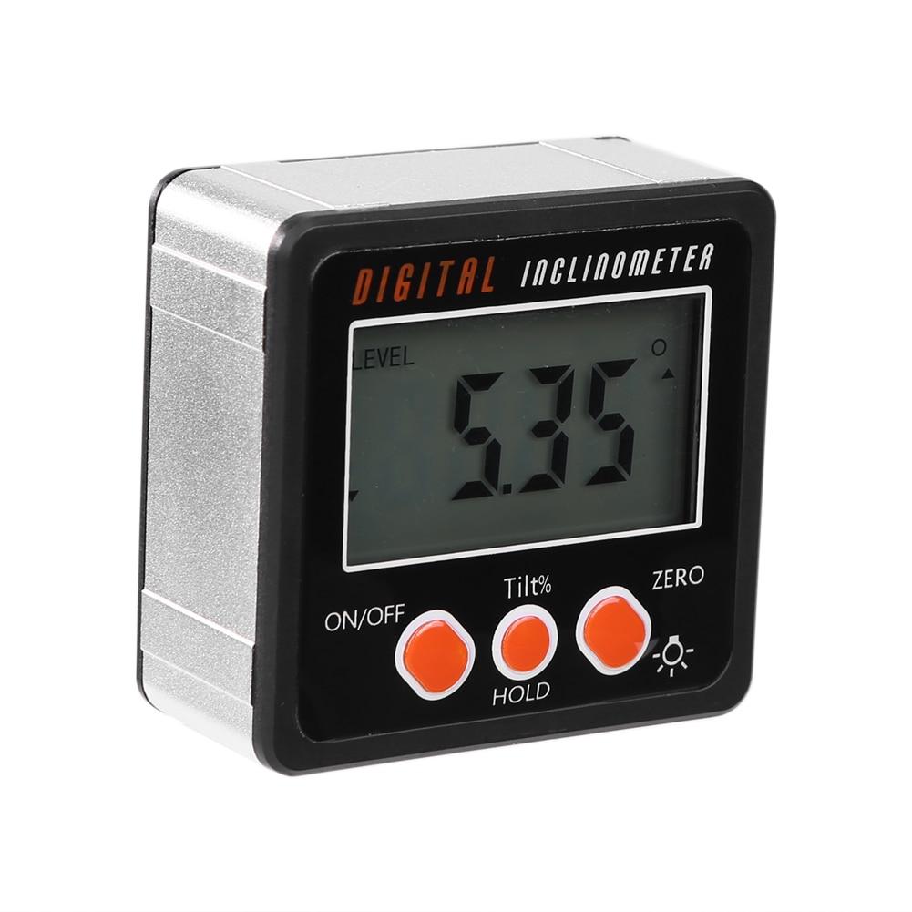 Measuring-Tools Gauge Inclinometer-Level-Box Angle-Meter-Finder Protractor Magnetic Digital