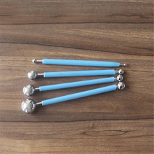 Stainless steel metal pellet stick light clay accessories cake bread making tools DIY handmade materials