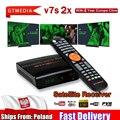 Цифровой приемник GTmedia V7 S2X HD с поддержкой usb Wi-Fi DVB-S2 H.265 V7S2X декодер с питанием от GTmedia V7S HD TV box без приложения в комплекте