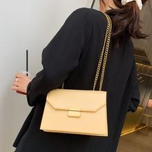 Chic Chain Shoulder Messenger Bags Fashion Small Flap Bag Women Casual Women Handbags Lock Chain Shoulder Messenger Bags Purses