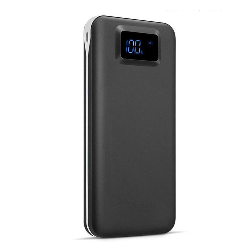 Dual Port Output Into Digital Lcd Display Mobile Power 7200 Mah Large Capacity Phone Charging Treasure