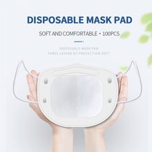 100 Pcs Disposable N95 Activated Filter Face Mask 3 layer Breathable PM2.5 Activated Filter Protective Filter Mouth Mask Pads 100 200 300 400 500 pcs mask respirator filter pads disposable antivirus smog prevention for mask pads universal 100% new