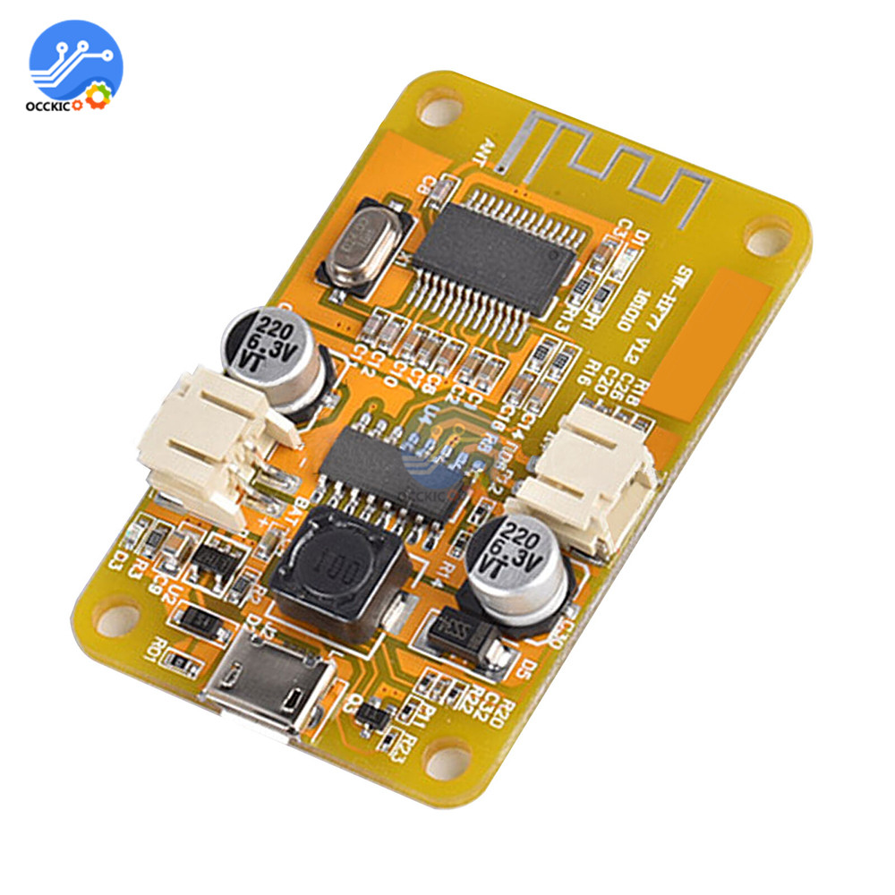 Bluetooth Digital Audio Mono Amplifier Board 6W Micro USB Power DIY Bluetooth Receiver Speaker Sound Music Board