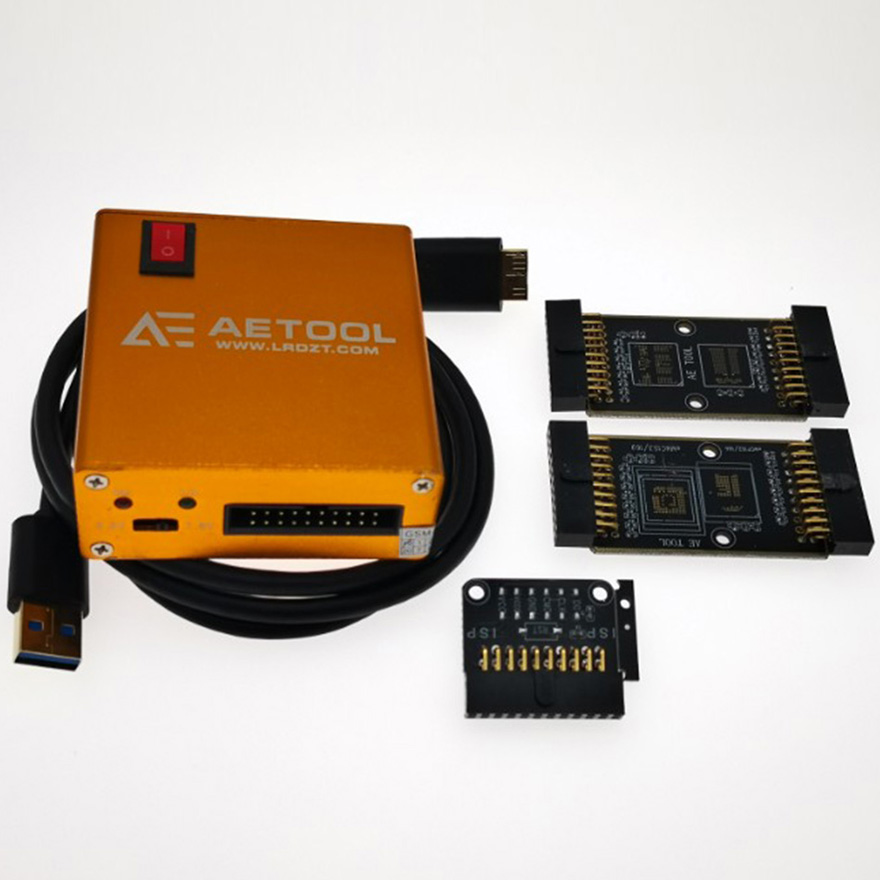 NEW ORIGINAL Toolbox AE AETOOL Box /AETOOL EMMC Programmerwith Source Welding Plate + Cable