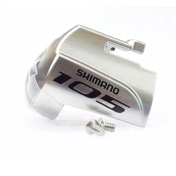 Shimano 105 ST-5800 ST-5700 3500 4700 5800 6800 6870 9000 9001 اليسار اليد اليمنى لوحة اسم w/تثبيت المسمار الفضة