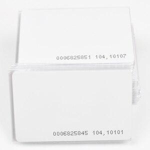Image 2 - 10Pcs באיכות גבוהה 125KHz EM4100/TK4100 RFID סמיכות מזהה חכם כרטיס 0.8mm דק כרטיסי עבור מזהה וגישה שליטה