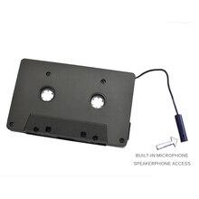 Adaptador de cassete leitor de cassete bluetooth 5.0 conversor de fita do carro de áudio cassete para adaptador aux smartphone cassete adaptador