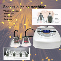 2020 new vacuum therapy machine buttocks enlargement vacuum breast pumps cupping cups hijama body fat cellulite fast shipping
