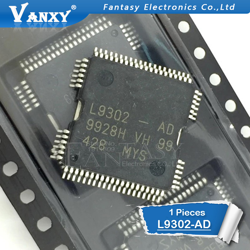 1PCS L9302-AD L9302AD L9302 LQFP64 9302 Automotive IC Car Chip Car IC Automotive Chip Quality Assurance