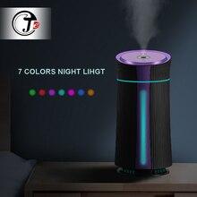 חדש 1100ML אוויר אדים קולי USB מפזר ארומה חיוני שמן 7 צבע LED לילה אור מגניב ערפל מטהר Humidificador